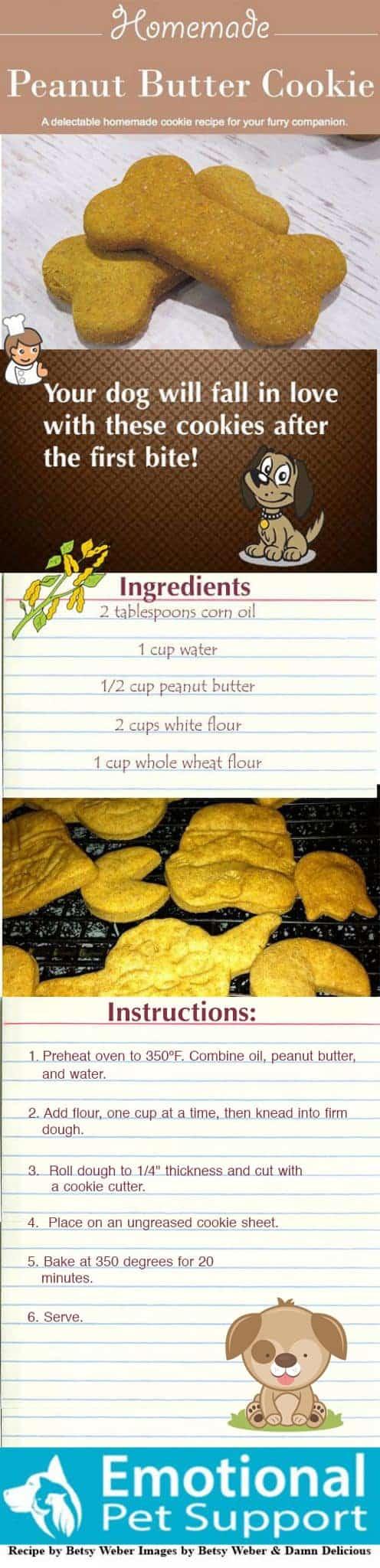 easy dog cookie recipe