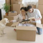 While packing, make sure you carefully label (or better yet, don't box up) your dog's toys, doggie bed, treats, etc. These items will be crucial to making your dog feel at home at the new place.