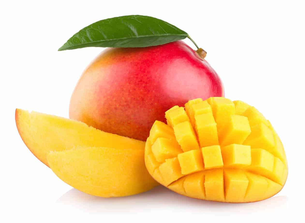 Can dogs eat mangoes? Yes, but avoid the pit and skin to protect your pup from hazards and potential upset tummies, diarrhea or worse.