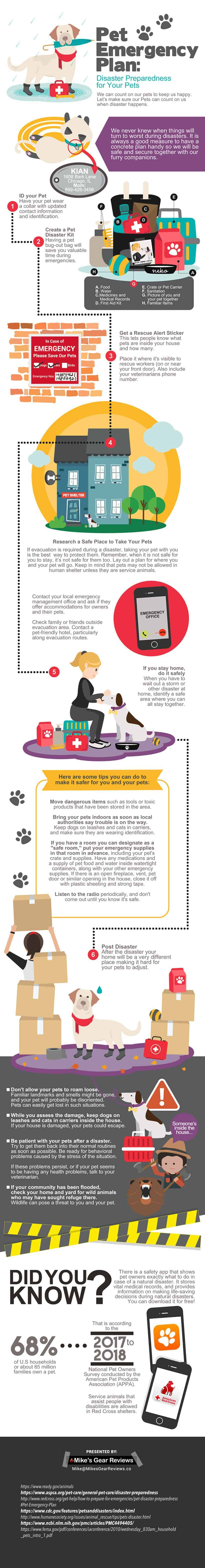 pet emergency plan
