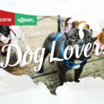 Graphic created by Rover and Redfin of the most dog-friendly cities in the United States.