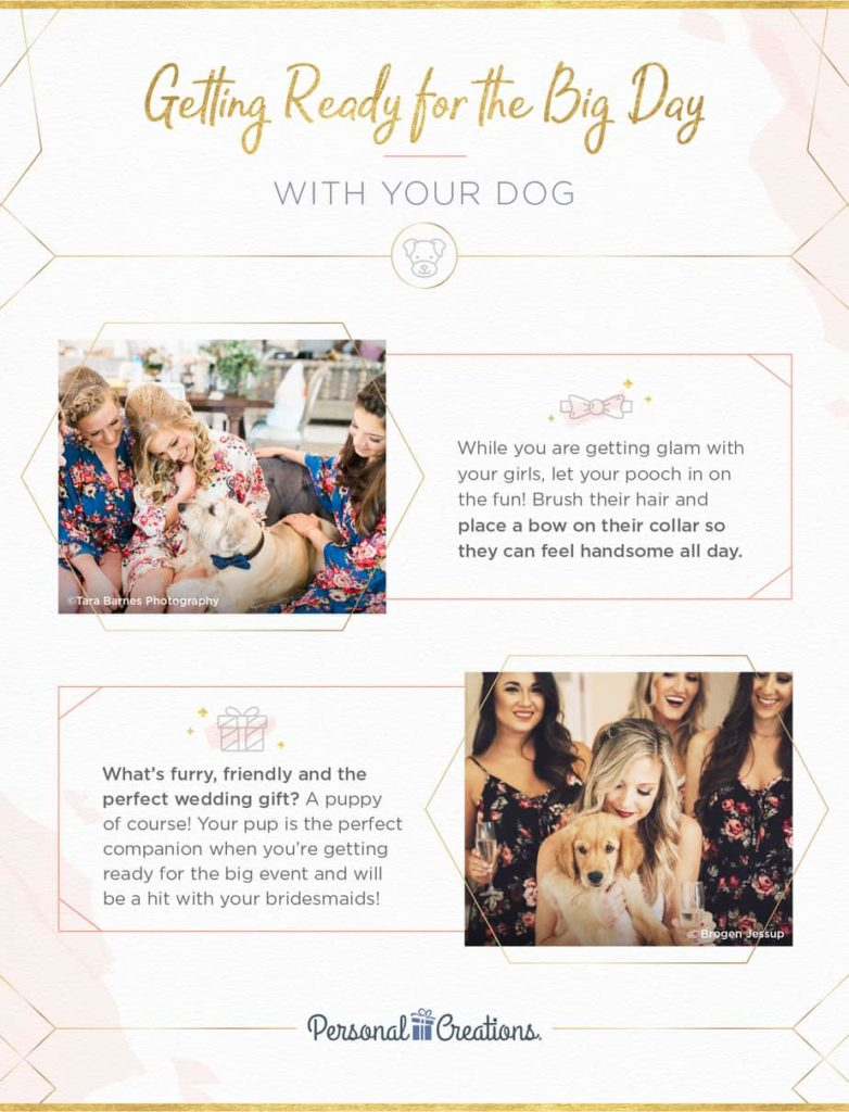 Dog-friendly wedding recommendations from Personal Creations