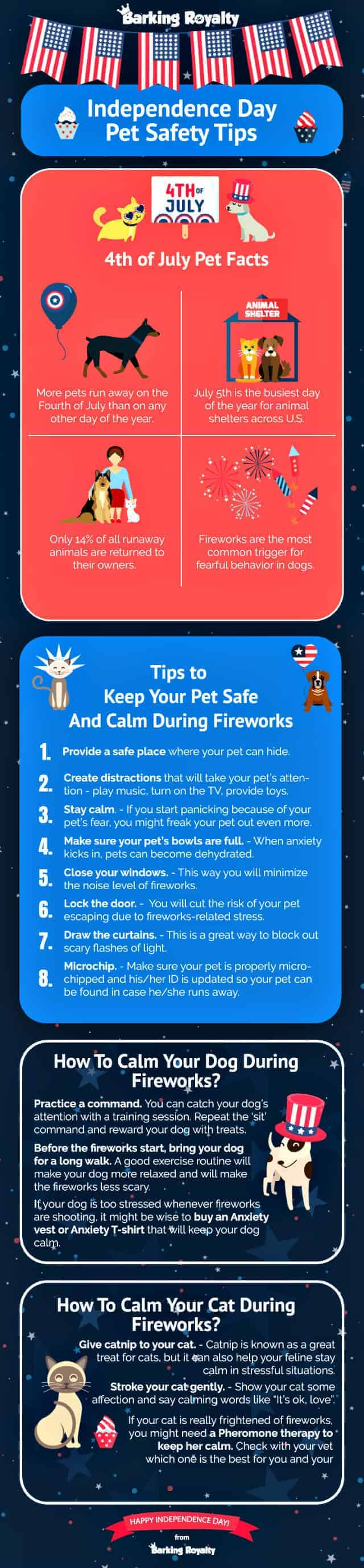 Fireworks danger graphic