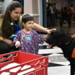 A grant from Dogs for Joy helps fund the costs of starting and maintaining a facility dog program to place a therapy dog at a pediatric hospital.