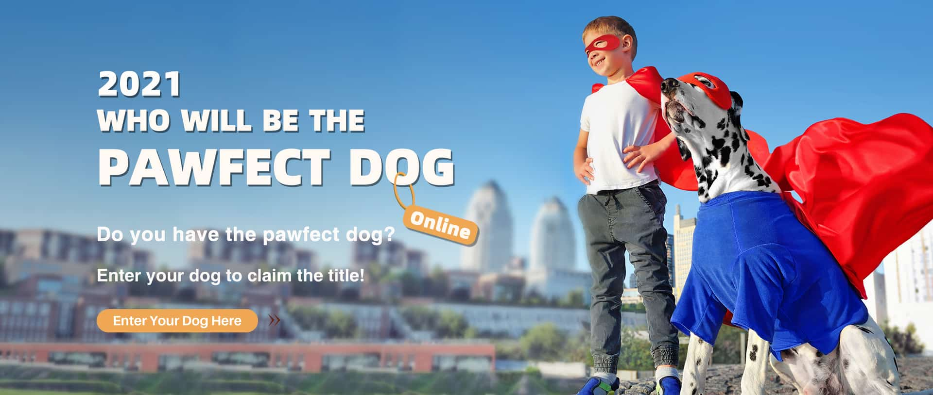Pawfect Pet Show banner